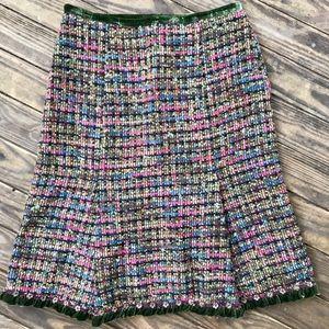 EUC Cynthia Rowley Wool Blend Skirt SZ2
